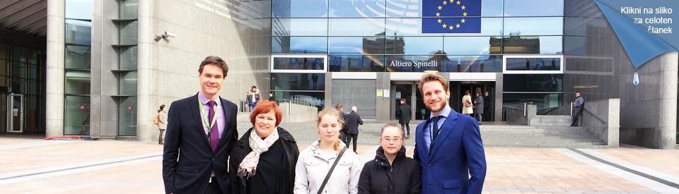 Naša članica v Evropskem parlamentu