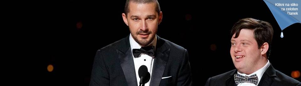 Mlad igralec z DS naznanil in izročil nagrado Oscar