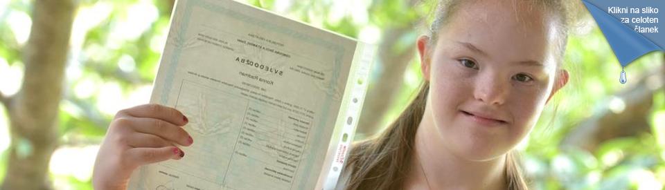 Prva dekle z DS v srednji šoli na Hrvaškem